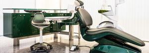 イトセ歯科の個室診療室